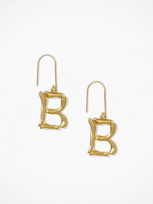 NLY Accessories örhängen Bamboo Letter Earrings B