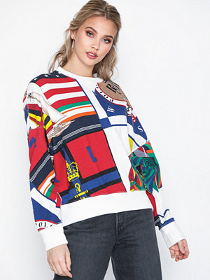 Polo Ralph Lauren Print Cn-Long Sleeve-Knit