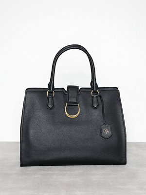 Lauren Ralph Lauren Large City Satchel Svart