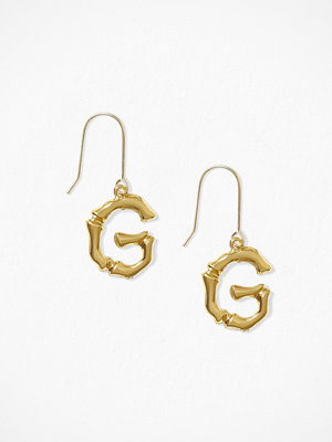 NLY Accessories örhängen Bamboo Letter Earrings G