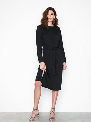 Pieces Pcgail Ls Midi Dress Camp