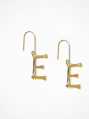 NLY Accessories örhängen Bamboo Letter Earrings E