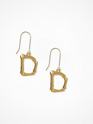 NLY Accessories örhängen Bamboo Letter Earrings D