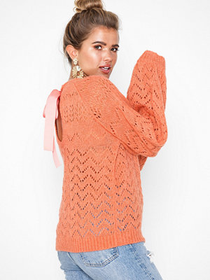 NLY Trend Open Back Tie Knit