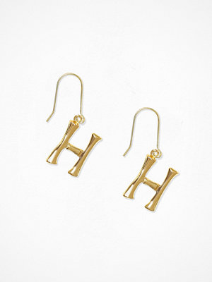 NLY Accessories örhängen Bamboo Letter Earrings H