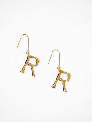 NLY Accessories örhängen Bamboo Letter Earrings R