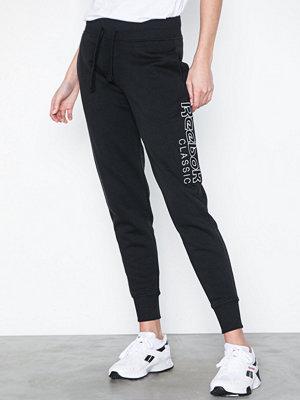 Reebok Classics svarta byxor med tryck Ac Gr Pant