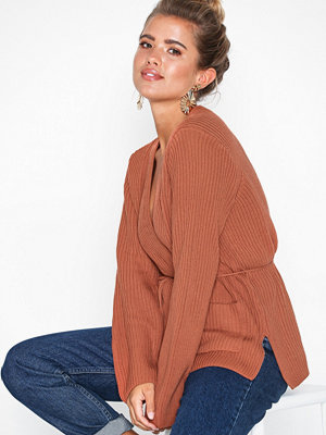 NLY Trend Side Slit Cardigan Knit