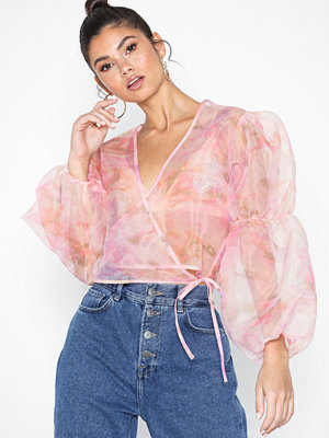 NLY Trend Puffy Organza Top