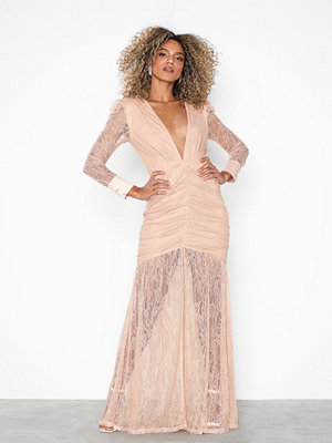 NLY Eve Deep V Lace Gown