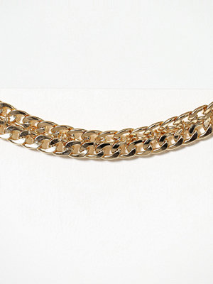 Freedom by Topshop halsband Double Chain Chunky Choker