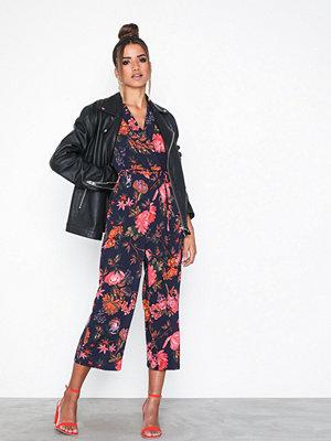 Ax Paris Maxi Flower Jumpsuit