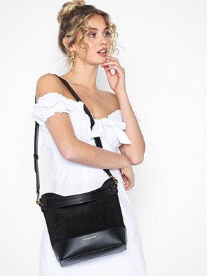 Polo Ralph Lauren svart axelväska Small Hobo Bucket