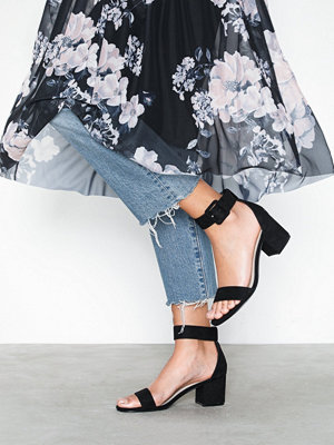 NLY Shoes Buckle Low Heel