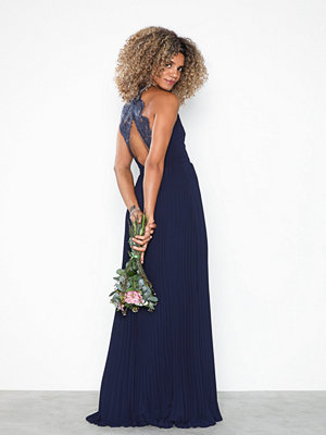 NLY Eve Pleated Lace Gown