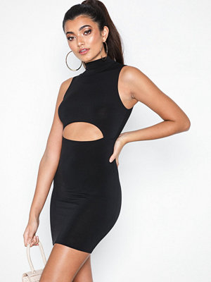 NLY One Mid Riff Turtle Neck Dress