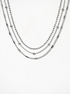 Freedom by Topshop halsband Mixed Chain Choker