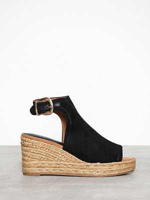 Tygskor & lågskor - River Island Closed Espadrille Wedge