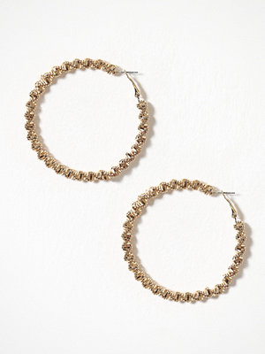 River Island örhängen Clean Bobble Rope Hoop