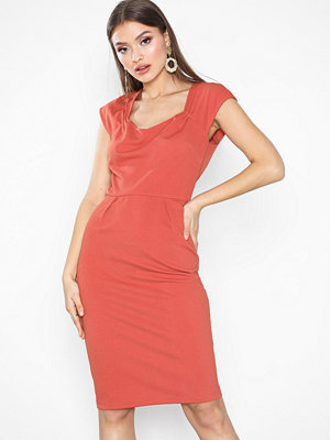 NLY Eve Square Neck Cap Sleeve Dress