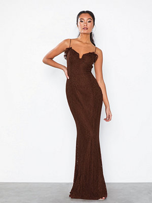 NLY Eve Lace Frill Mermaid Gown