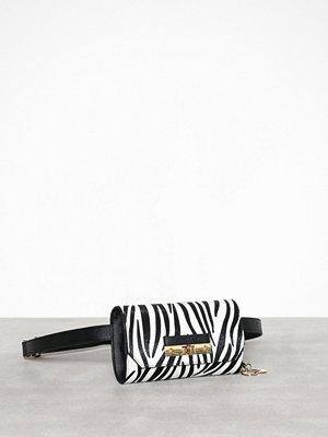River Island mönstrad axelväska Zebra Bum Bag