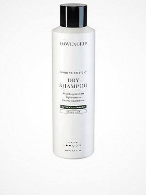 Hårprodukter - Löwengrip Good To Go Light - Dry Shampoo For Brown Hair (apple & cederwood) 250ml