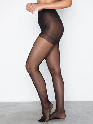 Strumpbyxor - Lindex Tights 20den Light Shaping Black