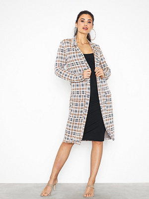 NLY Trend Long Check Blazer