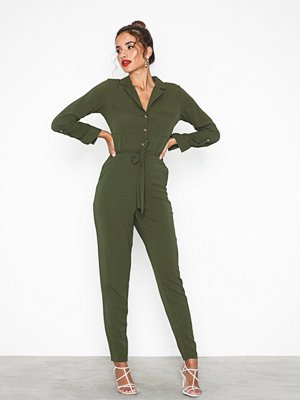 New Look Collar Jumpsuit
