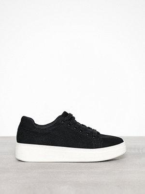 Duffy Faux Suede Sneaker Svart