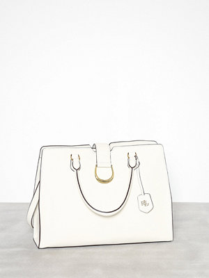 Lauren Ralph Lauren Large City Satchel Natural