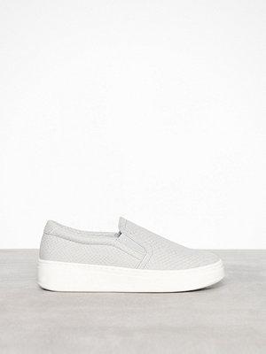 Sneakers & streetskor - Duffy Slip-On Sneaker Snake Grå