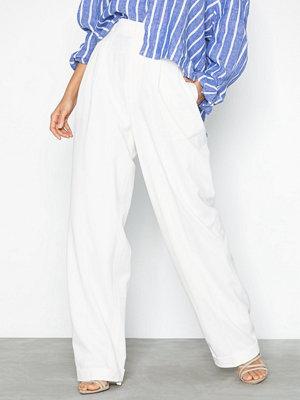 Polo Ralph Lauren vita byxor Wstn Pt-Straight-Straight-Pant