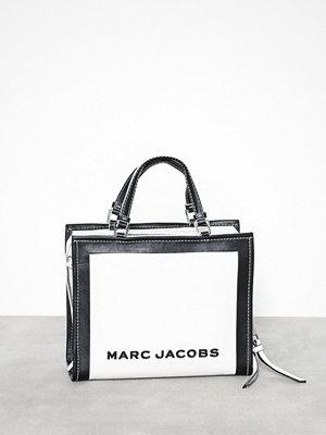 Marc Jacobs vit axelväska The Box Shopper 29