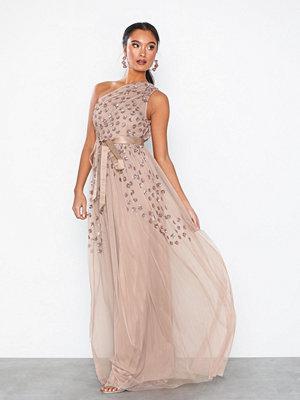 Maya One Shoulder Embellished Maxi Dress