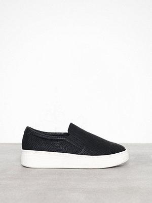 Sneakers & streetskor - Duffy Slip-On Sneaker Snake Svart