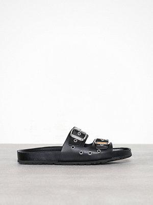 Tofflor - Pieces Pscaia Leather Sandal