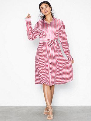 Polo Ralph Lauren Ls Ela Sd-Long Sleeve-Casual Dress Red