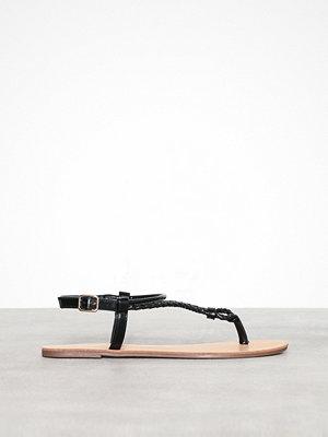 Tofflor - Only onlMARGIT Braided Ankel Sandal