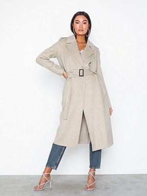 Selected Femme Slftana Ls Coat Melange B