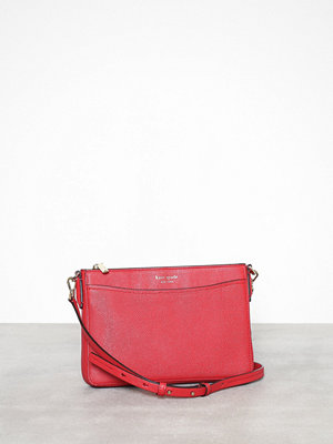 kate spade new york röd axelväska Margaux Medium Convertible Crossbody