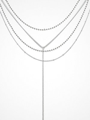 Missguided Jewelry halsband Mega Multi Chocker