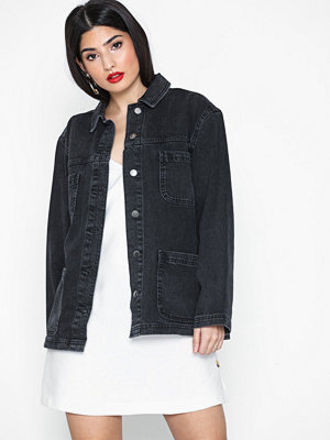 Topshop Double Pocket Denim Jacket