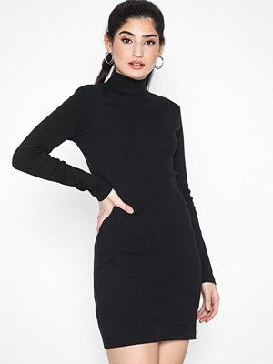 Missguided Roll Neck Rib Bodycon Dress