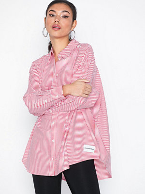 Calvin Klein Jeans Oversized Striped Poplin