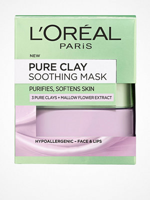 Ansikte - L'Oréal Paris Pure Clay Soothing Mask 50ml