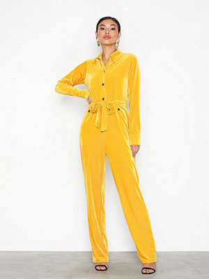 NLY Trend Ribbed Button Boilersuit