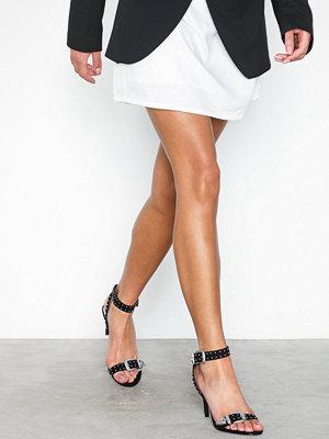 Pumps & klackskor - NLY Shoes Stud Buckle Heel Sandal