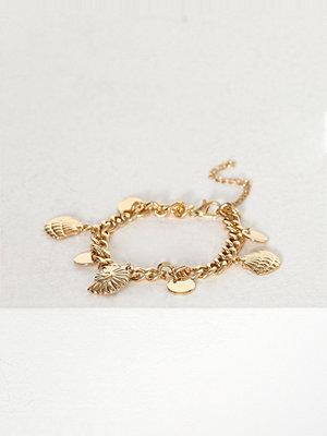 Missguided Jewelry armband Shell Charm Bracelet